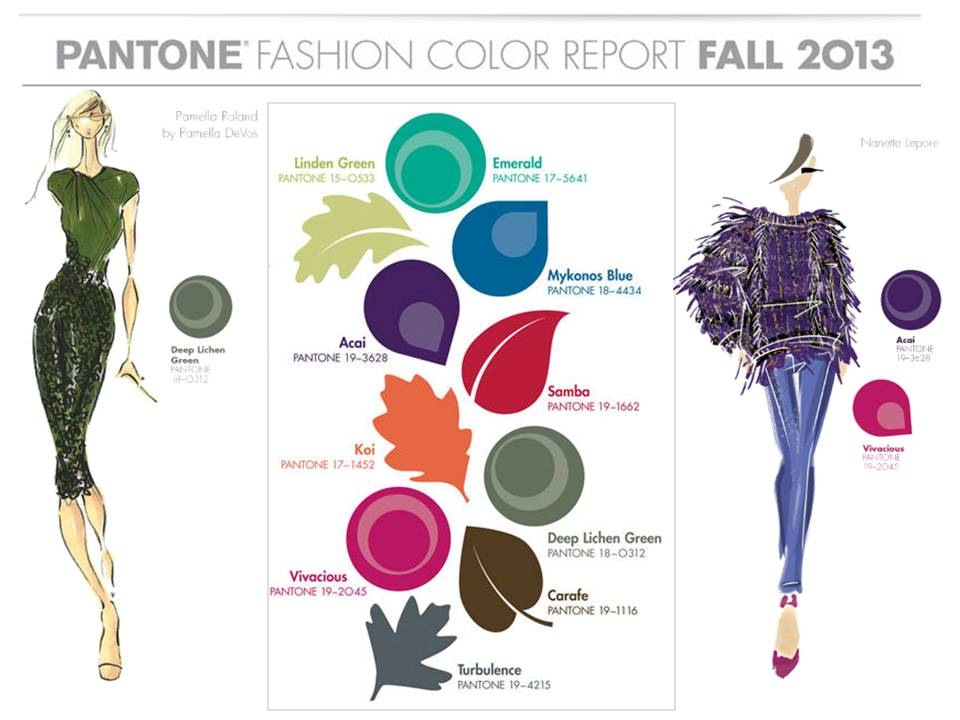 Tendencias pantone